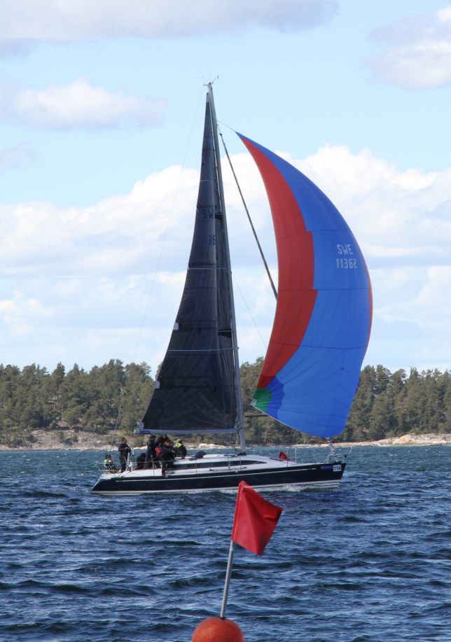 Totalsegrarna kölbåt. Foto Andwinge